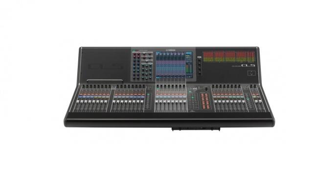 Yamaha CL 5 mikser cyfrowy 72 + 8 St, 24 MIX, 8 Matrix, DANTE